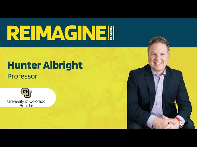 REIMAGINE 2020 v2.0 - Hunter Albright - University of Colorado Boulder - University Segment