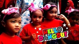 Pentas Seni Anak TK Menari - Lagu Anak Hello Dangdut
