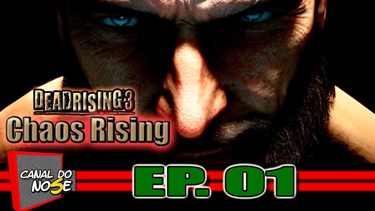 Dead Rising 3 - Chaos Rising (NOVA DLC) - Ep. 01 - Fugindo Da Delegacia - YouTube