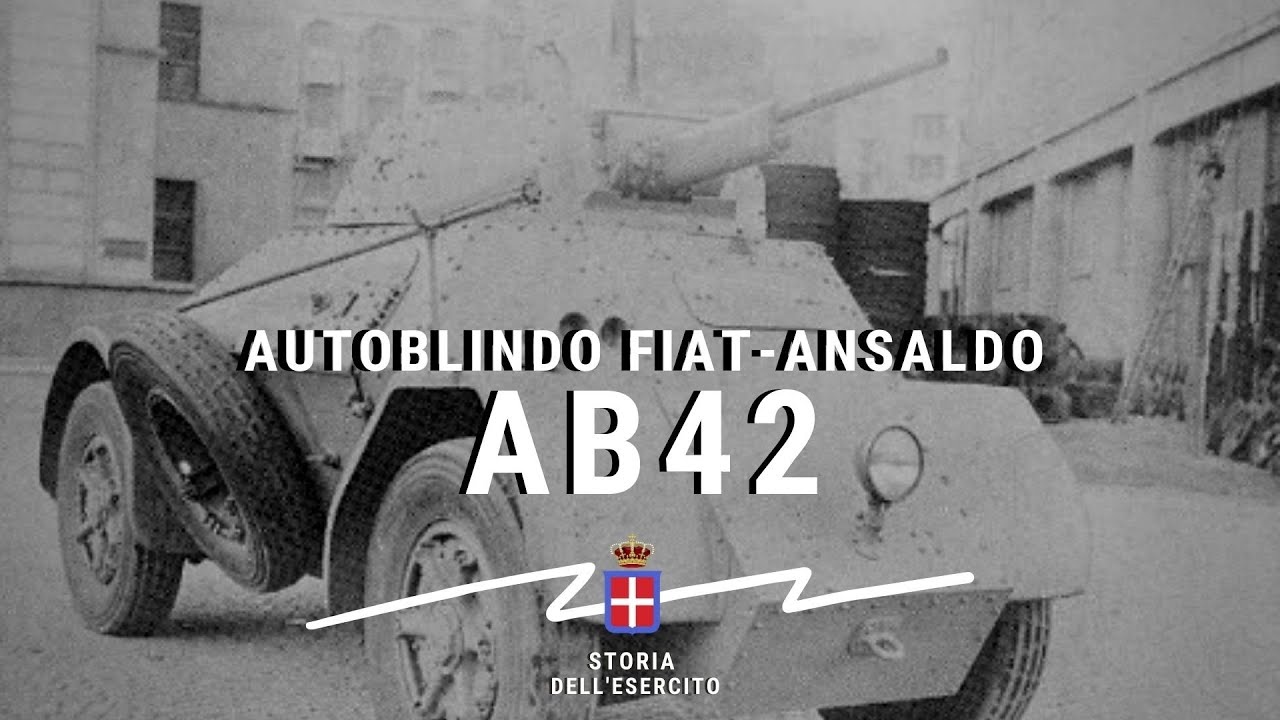Autoblindo Fiat-Ansaldo AB42 : l'anello MANCANTE
