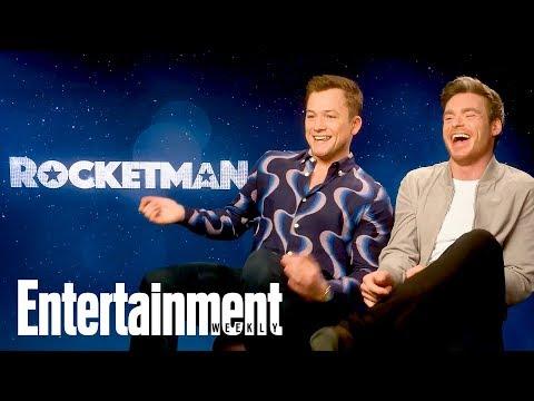 Taron Egerton & BFF Richard Madden On 'Rocketman', First Meeting & More | Entertainment Weekly