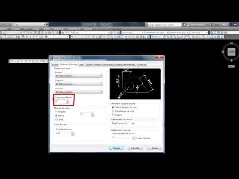 Acotar y Configurar Cotas en AutoCAD
