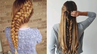 Hairstyles For Long Hair & Hairstyles Tutorials Compilation(part-1)