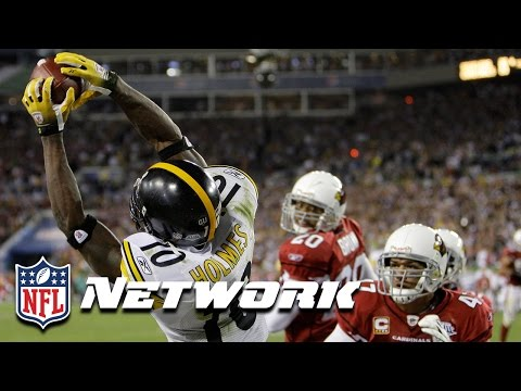 Legends of the Super Bowl: Santonio Holmes MVP Performance in Super Bowl XLIII | NFL NOW