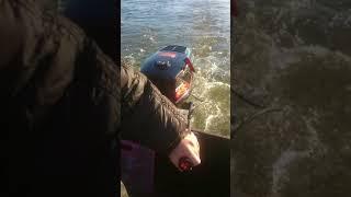 Выход на воду мотор Пуля 3,6 честный обзор, СМОТРЕТЬ ДО КОНЦА!!!!