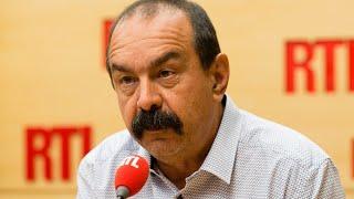 Philippe Martinez était l'invité de RTL le 30 août 2017r