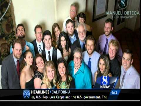 Michelle Imperato Wedding KSBW Salinas CA | WESH Orlando Florida | Wedding Photographer Monterey CA