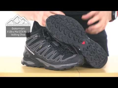 Salomon Mens X Ultra Mid GTX Walking Boots simplyhike.co.uk