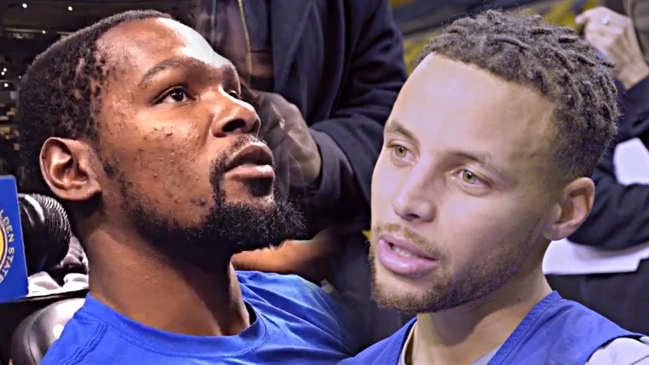 Stephen Curry Kevin Durant Talk Celtics Vs Warriors Youtube