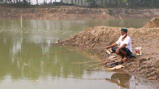 Fishing video Hook fishing Крючок рыбалки в деревне