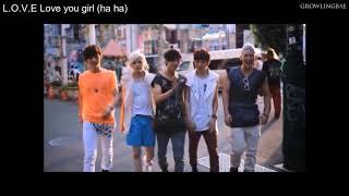 [3.45 MB] NU'EST - Hey, Love (Japanese Ver.) - LYRICS + ROMANJI + THAI SUB