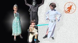Star Wars Kids 4 - Frozen Power - Princess Leia, Obi Wan Kenobi and Frozen Elsa