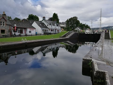 03 5. august 2017 Fort Augustus - Caledonian Canal