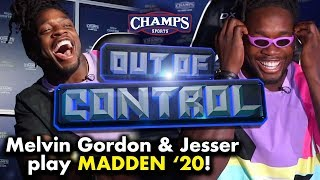 Melvin Gordon goes off on Madden '20 as himself | Out of Control
