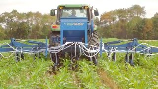 The Penn State Cover Crop Interseeder and Applicator