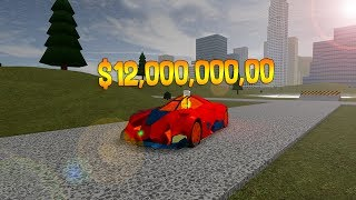 BUYING A 12 MILLION DOLLAR LAMBORGHINI! (Roblox Vehicle Simulator)