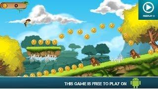 Banana Island – Monkey Kong Run - Free On Android - HD Gameplay