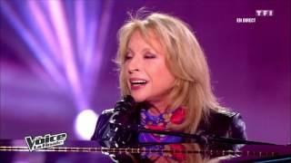Aude Henneville & Véronique Sanson - Amoureuse   The Voice France 2012   Finale