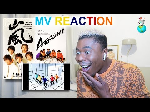 嵐 - A・RA・SHI MV REACTION