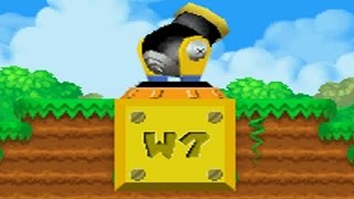 New Super Mario Bros DS - All Warp Cannons