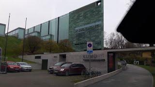 Driving to KUMU in Tallinn