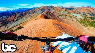 RIDING ON TOP OF THE WORLD!   Bikepacking the Chilcotins - Day 3