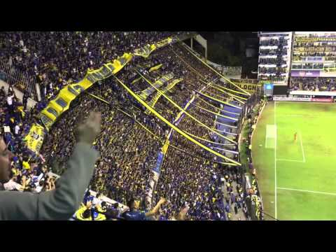 Boca Juniors - Bolivar  Copa Libertadores. Fans celebrating the first goal.