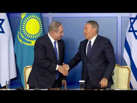 Statement by PM Netanyahu at Meeting with President of Kazakhstan Nursultan Nazarbayev