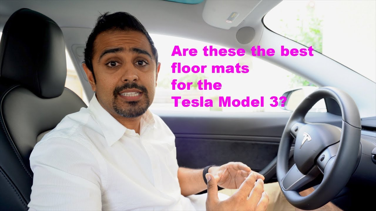 Are these the best all weather floor mats for the Tesla Model 3?