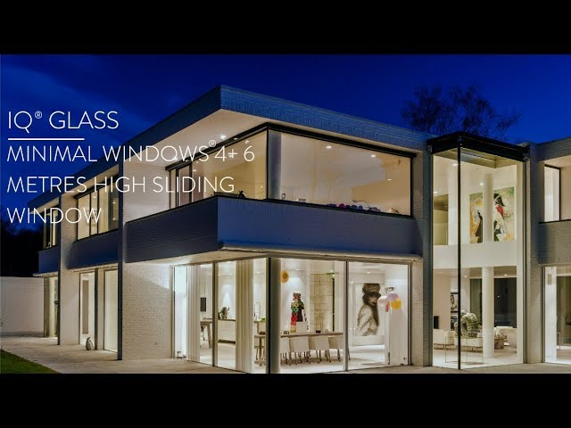 minimal windows® 4+ 6 Metres Sliding Window Installation