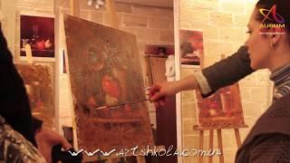 Мастер-класс живописи Елены Ильичевой 8.02.2012