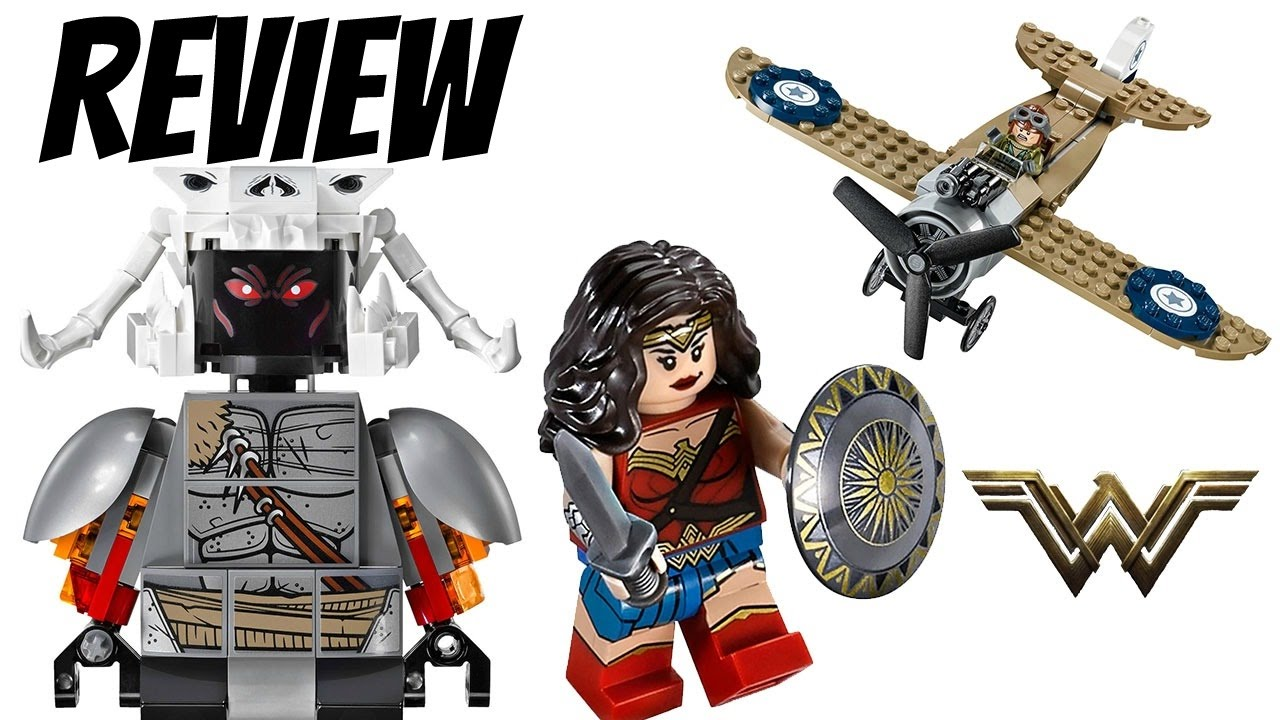 LEGO Wonder Woman Set 76075: Wonder Woman Warrior Battle ...