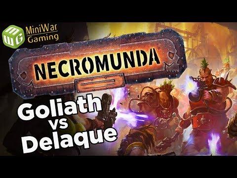 Goliath vs Delaque - Necromunda Gang War Campaign Game 11