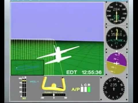 9/11 Pentagon Attack Flight 77 FDR NTSB Animation