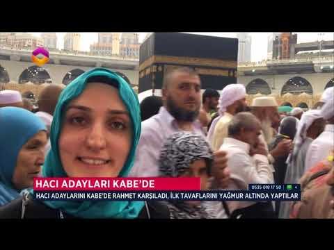 Hacı Adayları Kabe'de