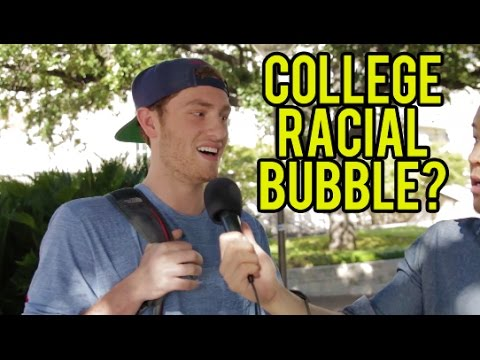 COLLEGE RACIAL BUBBLE - University of Texas