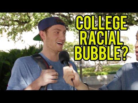 COLLEGE RACIAL BUBBLE - University of Texas