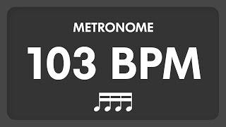 103 BPM - Metronome - 16th Notes