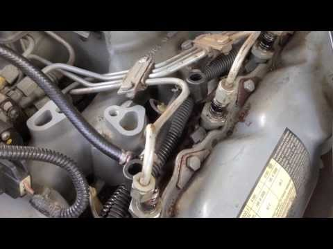Ford 6.9 7.3 diesel hard start cold stalls and dies. Fuel leak