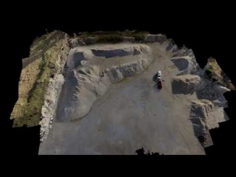 UAV 3D Pointcloud Flythrough