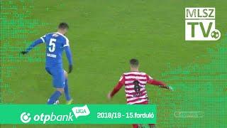 Vernes Richárd gólja a DVTK - MTK Budapest mérkőzésen