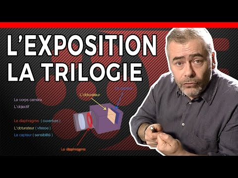 L'EXPOSITION - OUVERTURE - VITESSE - SENSIBILITE