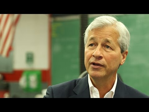 JAMIE DIMON: There's no such thing as a dead-end job