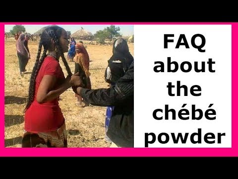 I am answering your questions about chébé powder !