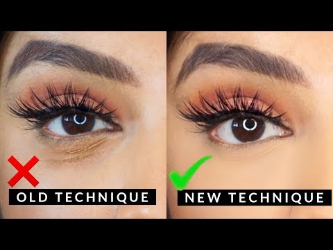 Stop Any Concealer From Creasing With This New Technique | Nivii06