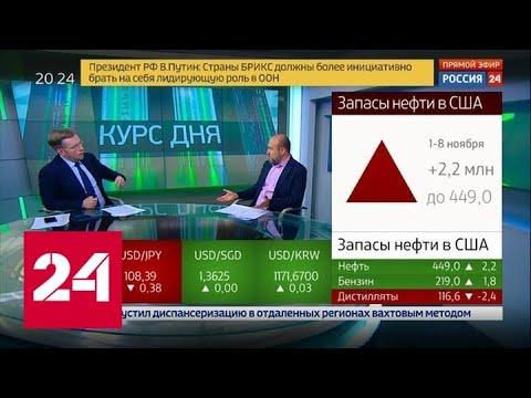 Экономика. Курс дня, 14 ноября 2019 года - Россия 24