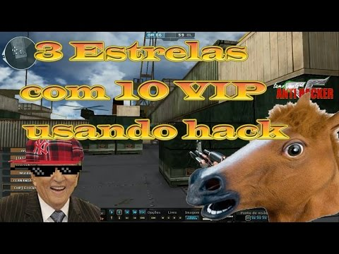 CHP]-Er1CkK. 3 Estrela com 10 Vip usando hack #AcordaZ8Games [CF/AL]