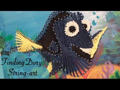 Finding Dory String-art - DIY