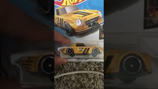 Hot wheels 2011 Dodge Charger r/t and fairlady 2000