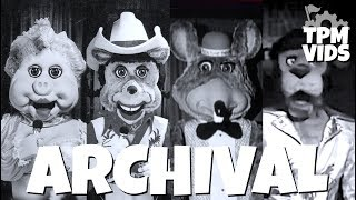 Archival- Top 10 Extinct Chuck E Cheese Animatronic Characters